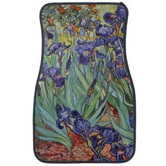 Van Gogh Irises Car Floor Mat