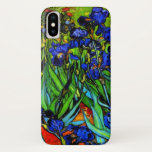 """Van Gogh - Irises iPhone XS Case<br><div class=""""desc"""">Irises,  fine art floral painting by Vincent van Gogh</div>"""