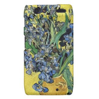 Van Gogh Irises Droid RAZR Cover