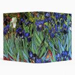 Van Gogh Irises (F608) Vintage Fine Art Binder