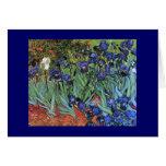 Van Gogh Irises (F608) Vintage Fine Art Card