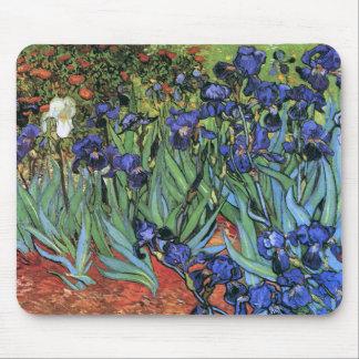 Van Gogh Irises (F608) Vintage Fine Art Mouse Pad
