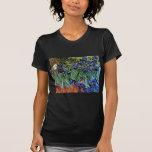 Van Gogh Irises (F608) Vintage Fine Art Tshirt