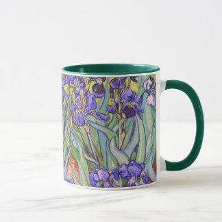 Van Gogh Irises Fine Art Mug