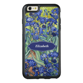 Van Gogh Irises Floral Personalized Monogr OtterBox iPhone 6/6s Plus Case