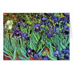 Van Gogh Irises Greeting Card