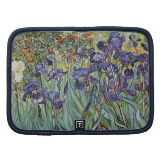 Van Gogh Irises Impressionist Flowers Organizer
