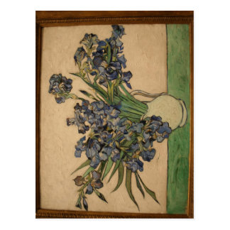 van Gogh Irises in NYC partial Photo taken by User Postcard