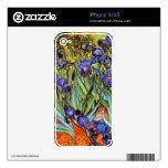 Van Gogh: Irises iPhone 4 Skins