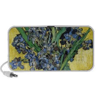Van Gogh Irises iPhone Speakers