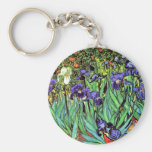 Van Gogh - Irises Keychain