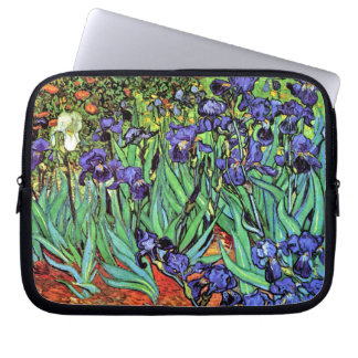 Van Gogh Irises Laptop Sleeves