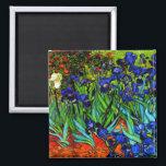 """Van Gogh - Irises Magnet<br><div class=""""desc"""">Vincent van Gogh"""