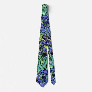 Van Gogh - Irises Neck Tie