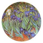 Van Gogh: Irises Plates