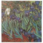 Van Gogh Irises Printed Napkin