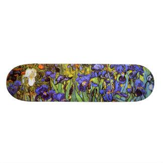 Van Gogh: Irises Skateboard Deck