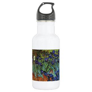 Van Gogh Irises Stainless Steel Water Bottle