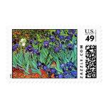 Van Gogh - Irises Stamp