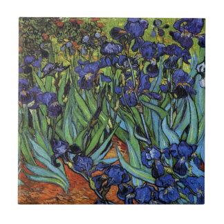 Van Gogh Irises Tile