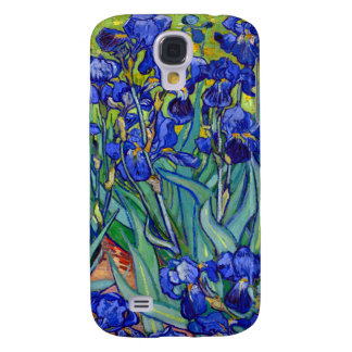 Van Gogh Irises v2 Galaxy S4 Cases