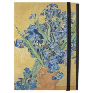 """Van Gogh Irises Vase Blue Floral Bouquet Fine Art iPad Pro 12.9"""" Case"""