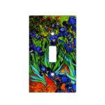 Van Gogh - Irises, Vincent Van Gogh painting Light Switch Covers