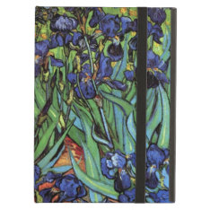 Van Gogh Irises, Vintage Garden Fine Art Cover For Ipad Air at Zazzle