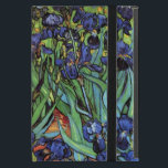 "Van Gogh Irises, Vintage Garden Fine Art iPad Mini Case<br><div class=""desc"">Irises (1889) by Vincent van Gogh is a vintage fine art post impressionism landscape floral painting featuring a garden with purple bearded irises growing by orange poppies. A single white iris flower is blooming at the edge. About the artist: Vincent Willem van Gogh (1853 -1890) was one of the most...</div>"