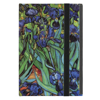 Van Gogh Irises, Vintage Garden Fine Art iPad Mini Case