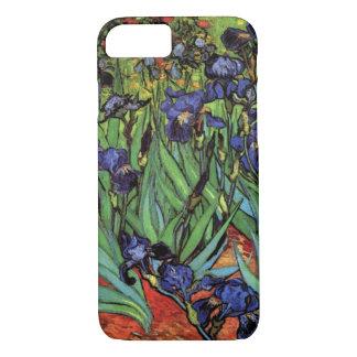Van Gogh Irises, Vintage Garden Fine Art iPhone 8/7 Case