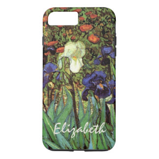 Van Gogh Irises, Vintage Garden Fine Art iPhone 8 Plus/7 Plus Case