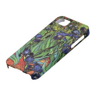 Van Gogh Irises, Vintage Post Impressionism Art iPhone 5 Cases