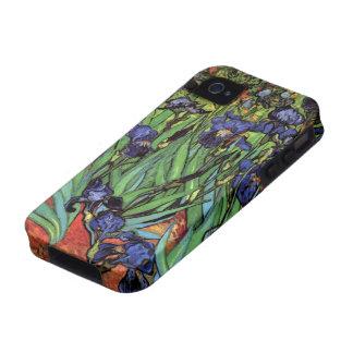Van Gogh Irises Vintage Post Impressionism Art Vibe iPhone 4 Cover