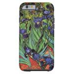Van Gogh Irises, Vintage Post Impressionism Art iPhone 6 Case