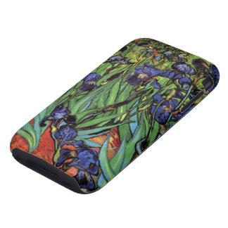 Van Gogh Irises, Vintage Post Impressionism Art Tough iPhone 3 Case