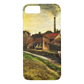 Van Gogh Iron Mill in The Hague, Vintage Fine Art iPhone 8/7 Case