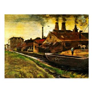 Van Gogh Iron Mill in The Hague, Vintage Fine Art Postcard