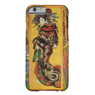 Van Gogh Japanese Courtesan Oiran Vintage Portrait Barely There iPhone 6 Case