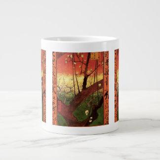 Van Gogh Japanese Flowering Plum Tree, Fine Art Giant Coffee Mug