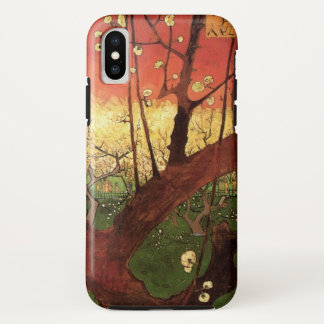 Van Gogh Japanese Flowering Plum Tree, Fine Art iPhone X Case