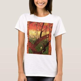 Van Gogh Japanese Flowering Plum Tree, Fine Art T-Shirt