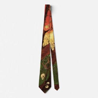 Van Gogh Japanese Flowering Plum Tree, Fine Art Tie