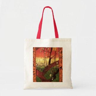 Van Gogh Japanese Flowering Plum Tree, Fine Art Tote Bag