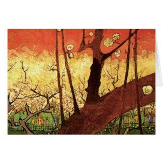 Van Gogh Japanese Flowering Plum Tree, Vintage Art Cards