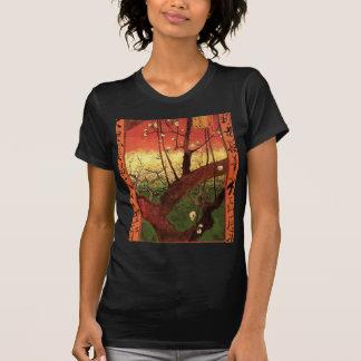 Van Gogh Japanese Flowering Plum Tree, Vintage Art Tshirts