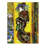 Van Gogh Japonaiserie Oiran Postcard