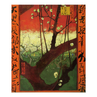 Van Gogh Japonaiserie Poster