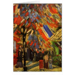 Van Gogh July 14th Celebration in Paris (F222) Cards