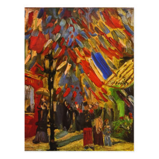 Van Gogh July 14th Celebration in Paris F222 Postcards